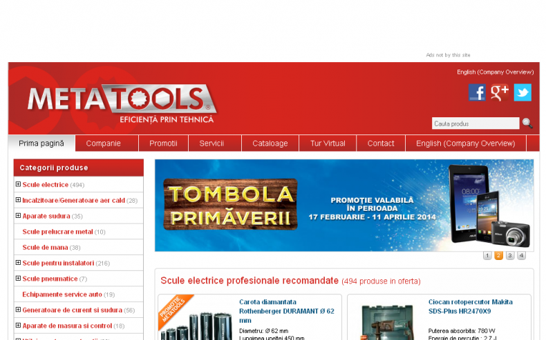 Magazinul Online metatools.ro