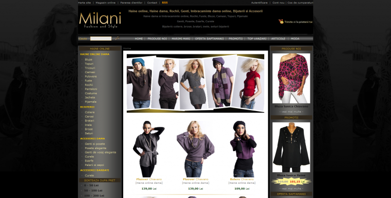 Magazinul Online milani.ro