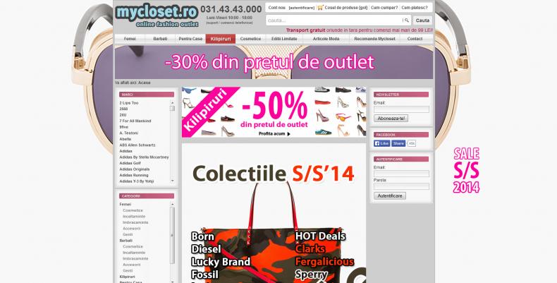 Magazinul Online mycloset.ro