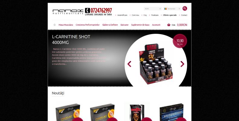Magazinul Online nanox.ro