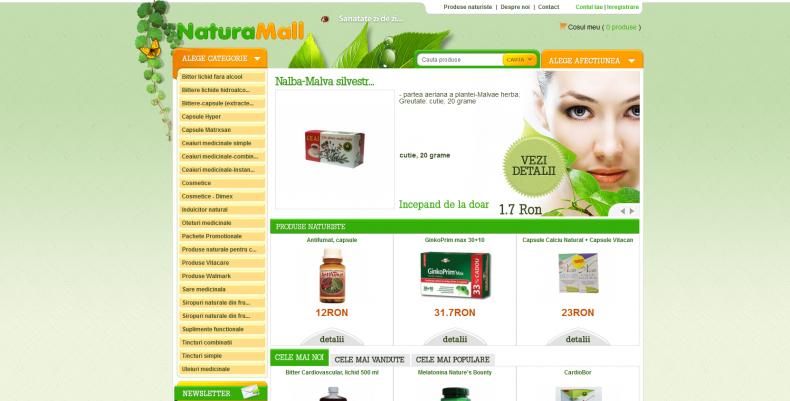 Magazinul Online naturamall.ro