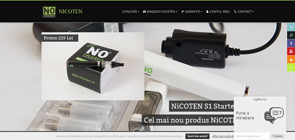 Magazinul Online nicoten.ro