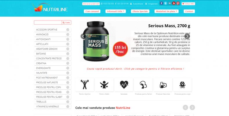 Magazinul Online nutriline.ro