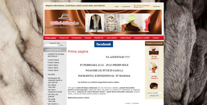 Magazinul Online palarii-blanuri.ro