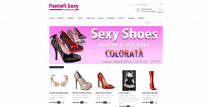 Magazinul Online pantofisexy.ro