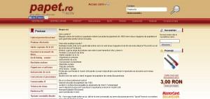 Magazinul Online papet.ro