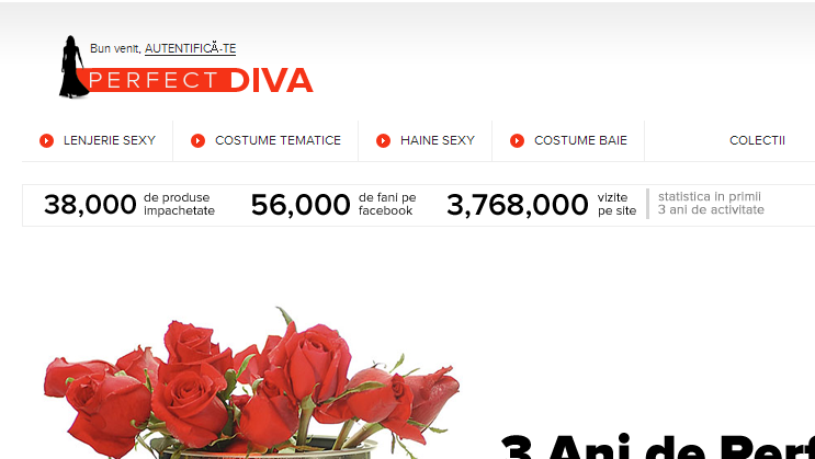 Magazinul Online perfectdiva.ro