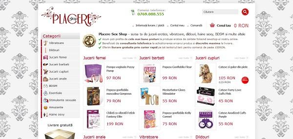 Magazinul Online placereshop.ro