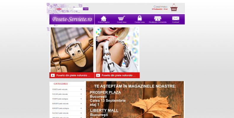 Magazinul Online posete-serviete.ro