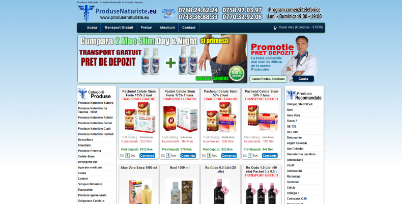 Magazinul Online produsenaturiste.eu