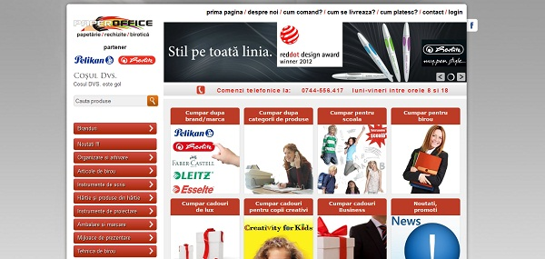 Magazinul Online profioffice.ro