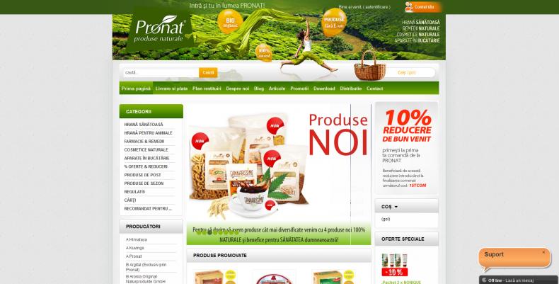 Magazinul Online pronat.ro