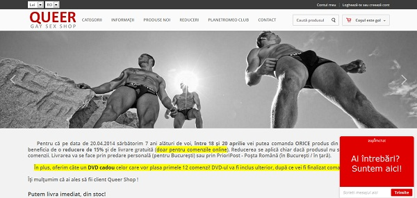Magazinul Online queer.ro