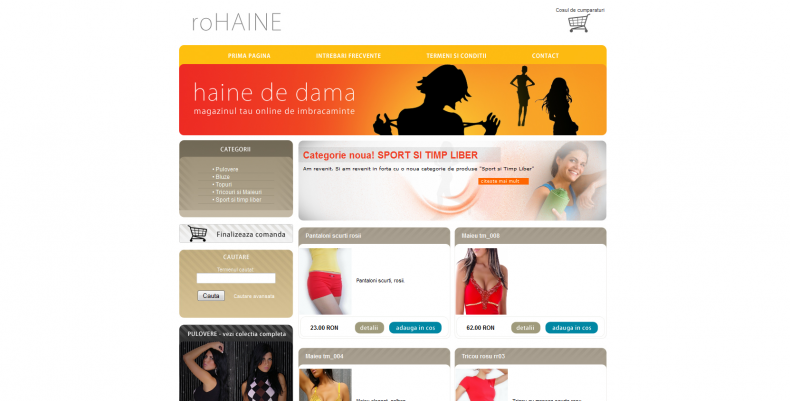 Magazinul Online rohaine.ro