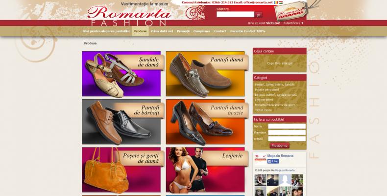 Magazinul Online romarta.net