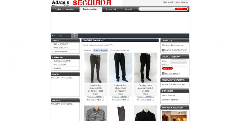 Magazinul Online secuiana.ro