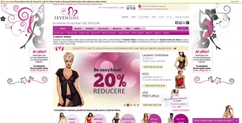Magazinul Online sevensins.ro