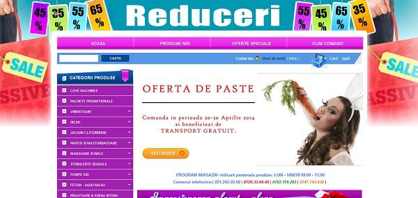 Magazinul Online sexshopintim.ro
