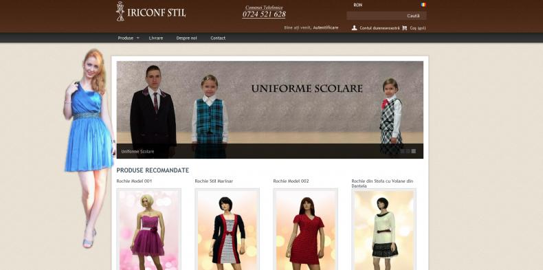 Magazinul Online shop.iriconfstil.ro