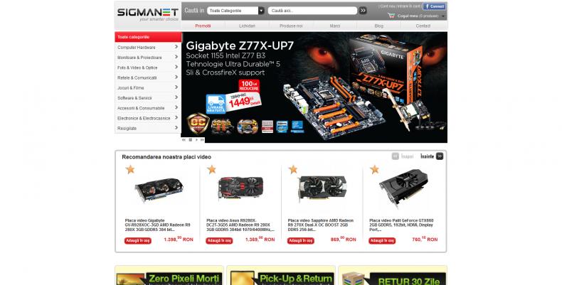 Magazinul Online sigmanet.ro