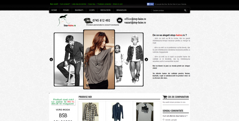Magazinul Online stop-haine.ro