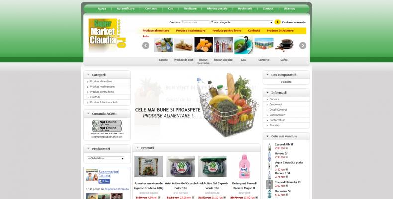 Magazinul Online supermarketclaudia.ro