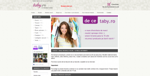 Magazinul Online taby.ro