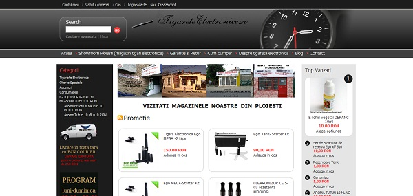 Magazinul Online tigareteelectronice.ro