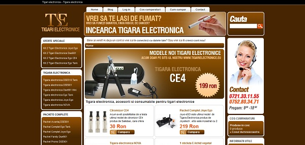 Magazinul Online tigarielectronice.eu