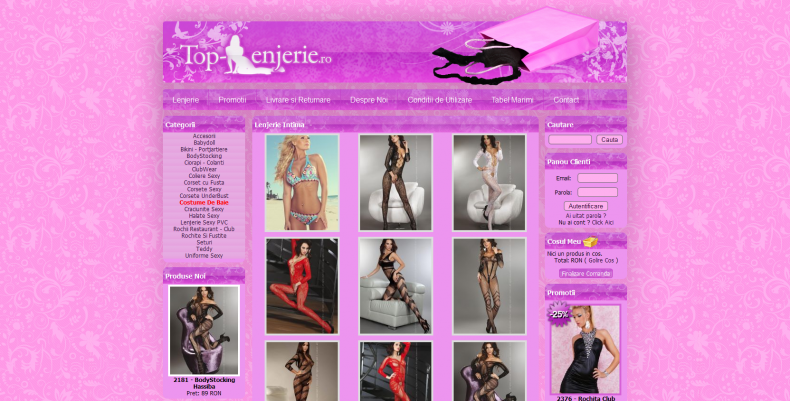 Magazinul Online top-lenjerie.ro