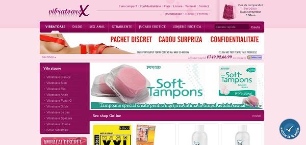 Magazin Online vibratoarex.ro