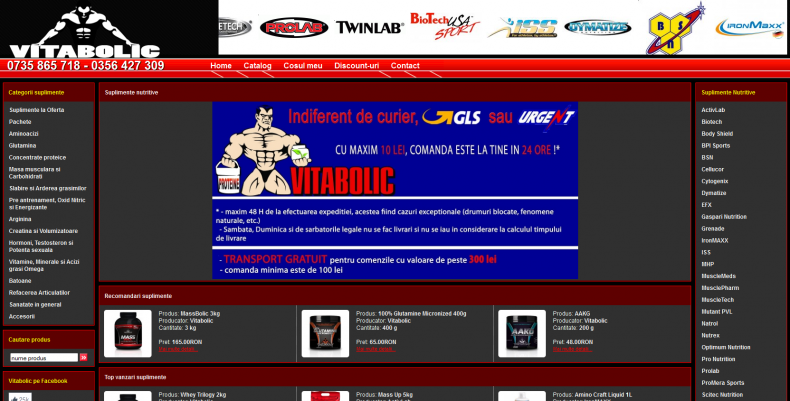 Magazinul Online vitabolic.ro