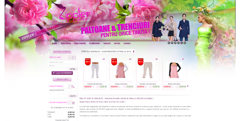 Magazinul Online zippler.ro