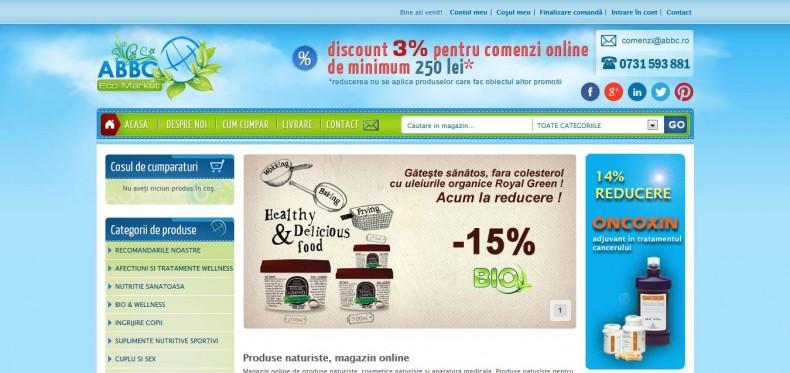 Magazinul online abbc.ro