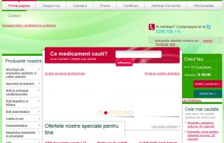 Magazinul online farmaciavlad.ro