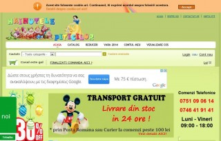Magazinul online hainutelepiticilor.ro