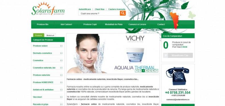 Magazinul online solarisfarm.ro