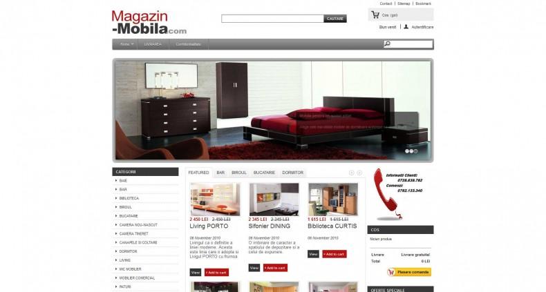 Magazinul Online magazin-mobila-com