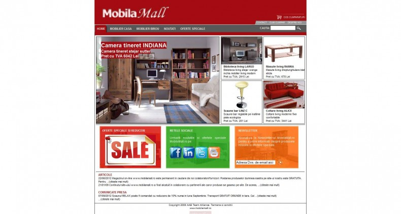 Magazinul Online mobilamall-ro