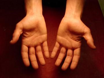 mâinile