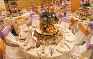 Ultimele tentinte in cateringul pentru nunti.