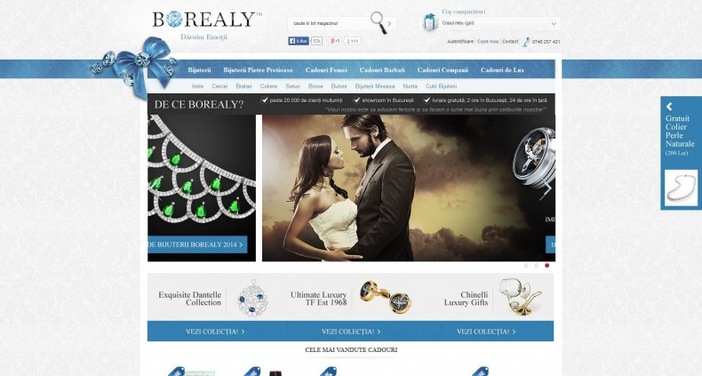 Magazinul Online borealy.ro