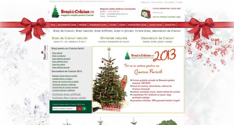 Magazinul Online brazidecraciun.ro