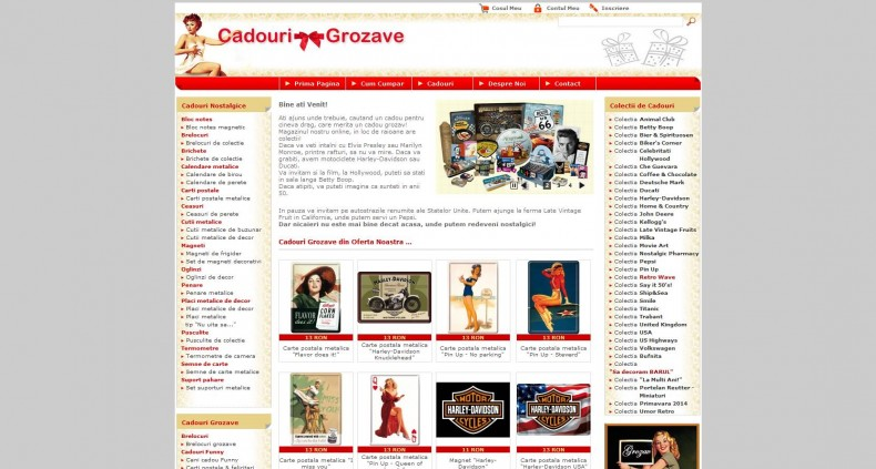 Magazinul Online cadouri-grozave.ro