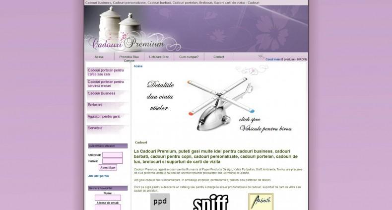 Magazinul Online cadouri-premium.ro