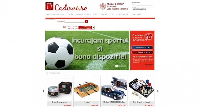 Magazinul Online cadouri.ro