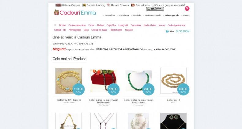 Magazinul Online cadouriemma.ro