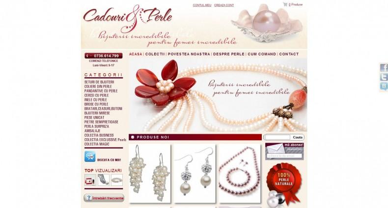 Magazinul Online cadourisiperle.ro