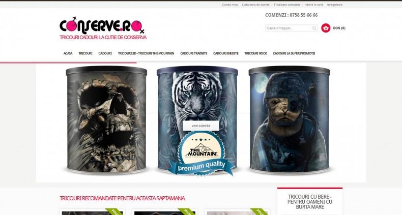 Magazinul Online conserve.ro