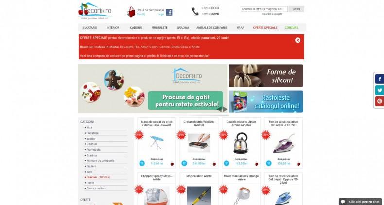 Magazinul Online decorix.ro